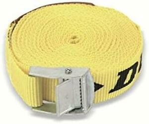 Dunlop Vehicle Tie Down Safety Belt 5 Metre Car Vehicle Recovery Ratchet Straps