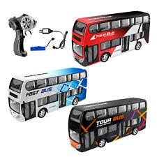 RC ferngesteuertes Bus Auto mit Frondlicht Akku Ladegeräte 2,4GHz 30cm lang