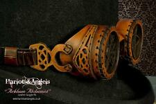 Steampunk leather goggle kit. Make yourself high quality kit. Contain everything