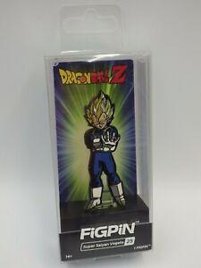 Figpin Dragon Ball Z Vegeta 25 New Pin's Metal Collector Pin Figurine