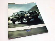 2003 Ford Explorer Sport Trac Brochure