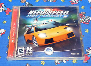 Need for Speed Hot Pursuit 2 PC CD Computer game New Sealed Electronic Arts RARE