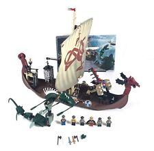 LEGO Set 7018 Viking Ship Challenges the Midgard Serpent Compl Missing 1 Sticker