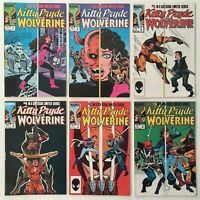 Kitty Pryde and Wolverine Six Issue Limited Series 1-6 Copper Age Marvel Comics