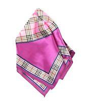 Bandana Headscarf silk satin leopard check pashmina women square scarve new