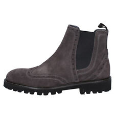 scarpe uomo TRIVER FLIGHT 39 EU stivaletti grigio camoscio BX582-39
