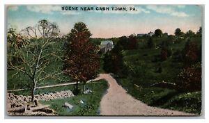 Postcard PA Scene Near Cashtown Pennsylvania c1917 #2 Q25
