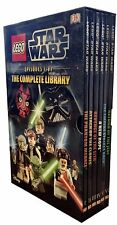 DK Lego Star Wars The Complete Library Collection 6 Book Box Set (Episodes I-VI)