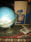 Vintage  1964 RAND MCNALLY WORLD PORTRAIT GLOBE with Shipping Box & Hand Book