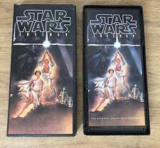 Star Wars ORIGINAL SOUNDTRACK TRILOGY ANTOLOGIA 4 CD  ( USA 1993 )