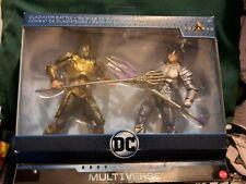 DC Comics DC Multiverse Gladiator Battle Aquaman vs Orm Target Exclusive pack