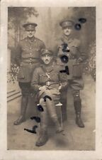 WW1 Officer Group ASC Army Service Corps in France