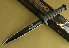 Survival Tactical Hunting Camping Military Bowie Sharp Knife Combat Pig Sticker