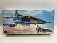 Hasegawa 1/72 Scale Russian MIG-23S Mikoyan Flogger B Boxed Model Kit No Reserve
