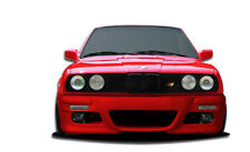 84-91 BMW 3 Series E30 2DR 4DR Duraflex M3 E46 Front Bumper 1pc Body Kit 106436
