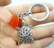 38*25MM Hand-carved tortoise  alloy Crafts, Key Chain, Key Ring  A42