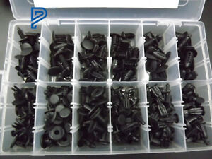 192 Clips Push Pin Retainer Automotive Assortment Fit For Toyota Honda GM Ford
