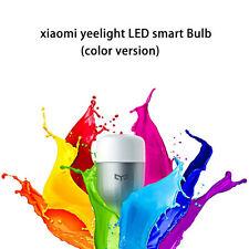 Xiaomi Mi Yeelight Multi Color LED Smart Lamp Bulb APP Remote Control Adjustable