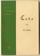 Amerika Karibik Kuba Geschichte Geografie Kultur Erdkunde Monografie 1899