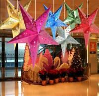 Xmas String Hanging Star Christmas Party Decoration Christmas Tree Ornament DIY