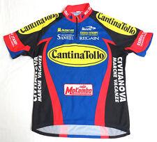 vtg Biemme CANTINA TOLLO Cycling Team Jersey LARGE 2000 Diadora Moser Regain L