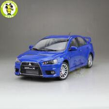 1/18 Mitsubishi Lancer EVO X 10 LHD Diecast Car Model Toy Kids Boy Gifts Blue