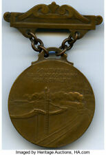 Southern Railway Company Loyalty Medal by Victor D. Brenner. Smedley-109. Bronze