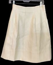 Marni Skirt Ivory Textured A Line Size 42