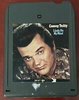 Linda On My Mind by Conway Twitty 8 Track Cartridge MCT 469