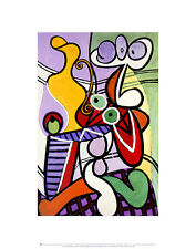 Pablo Picasso Large Still Life with Pedestal table POSTER Arte Stampa Immagine