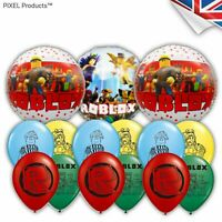 """ROBLOX 12"""" Latex & Foil Balloons 