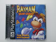Rayman Brain Games (Sony PlayStation 1, 2001) Used--Tested (NTSC/US/CA)
