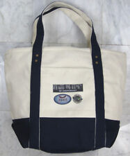 PRATT & WHITNEY 90th Anniversary Cotton Canvas Cream & Navy Top Handle Tote Bag