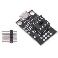 Mini ATTINY85 Micro USB Development Programmer Board for Tiny85-20PU DIP-8_chHDL