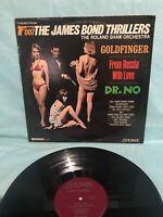 OO7 JAMES BOND THRILLERS VINTAGE VINYL LP