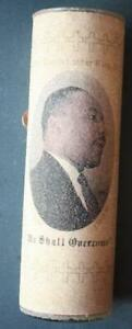 1960-70s Era Civil Rights Leader Dr.Martin Luther King, Jr. Memorial Candle-MLK!