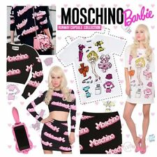 Moschino Couture Barbie 'Runway Capsule Collection' Jersey Mini Dress Size S