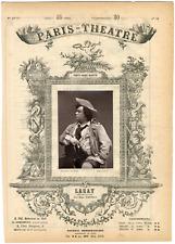 Lemercier, Paris-Théâtre, Laray, acteur Vintage albumen Print Tirage albuminé