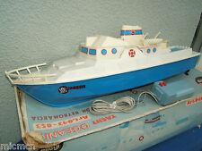 """Vintage ELLEGI No.043-053 Yacht à moteur """"OCEANIC"""" En parfait état, dans sa boîte"""