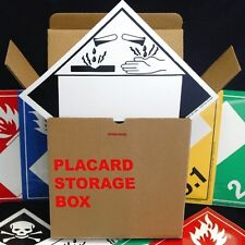 Blank Window Vinyl Adhesive Placard Kit (12 of each listed placard)