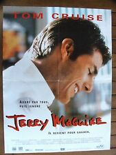 AFFICHE - JERRY MAGUIRE TOM CRUISE  CAMERON CROWE