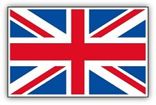 2x UNION JACK car stickers 90x50mm GB Great Britain decals