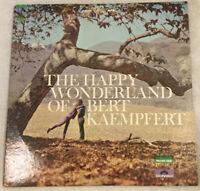 THE HAPPY WONDERLAND OF BERT KAEMPFERT Vinyl Double LP 1966 Stereo EX/NM