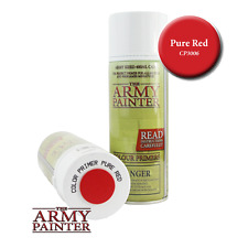 The Army Painter CP3006 Primer Pure Red 400ml Fine Spray Can Courier Post