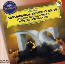 Berliner Philharmoniker - Shostakovich Symphony No10 (DG The Originals) [CD]
