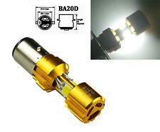 36W BA20D H6 3 LED COB Roller Motorrad Hi/Lo Scheinwerfer 6000K Deutsche Post