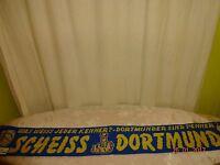 """Schalke,München Anti Dortmund Schal """"DIE TOTALE ARSCHLOCH - TRUPPE"""" """"SCHEISS .."""""""