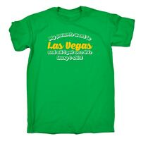 Mens My Parents Went To Las Vegas And All I Got Tee Funny Joke T-SHIRT birthday