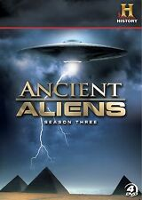 Ancient Aliens:Season 3. Alien Doco Series. 4 disc Boxset. New In Shrink!