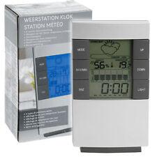 Orologi e sveglie da casa grigio a batteria in plastica